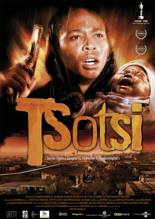 david in the film tsotsi How do the names of main characters in the film tsotsi and novel graceland define their identity when comparing the south african movie tsotsi directed by gavin hood and chris abani's nigerian novel graceland, both are stories of young men struggling with their poverty-stricken fates.