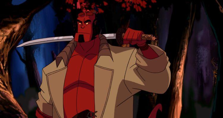 Hellboy Animated Schwert der Stuerme Frontpage Sword of Storms