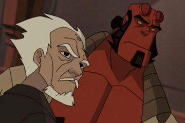 Hellboy Animated Eisen und Blut Frontpage