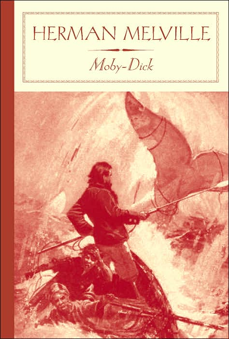 a review of moby dick by herman melville Publisher's write-up: it is the horrible texture of a fabric that should be woven of ships' cables and hawsers.
