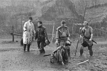 Die sieben Samurai Frontpage