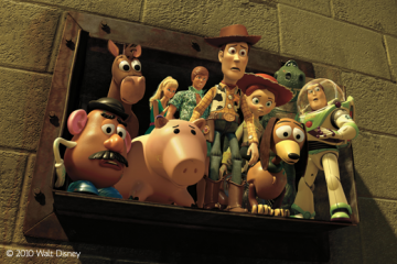 Toy Story 3 Frontpage