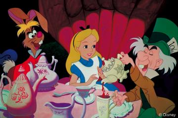 Alice im Wunderland Frontpage