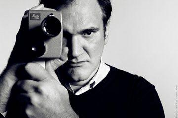 Quentin Tarantino photographer at the Soho Hotel in London. December 2012