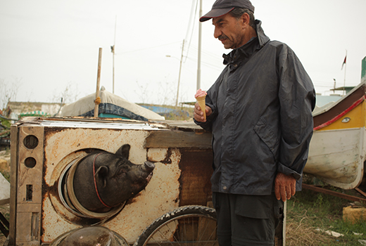 Das Schwein von Gaza Szene 2