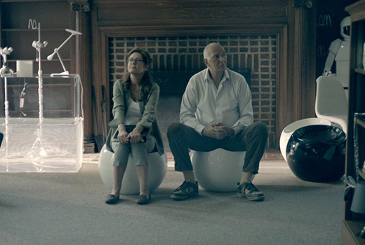 Robot & Frank Szene 1