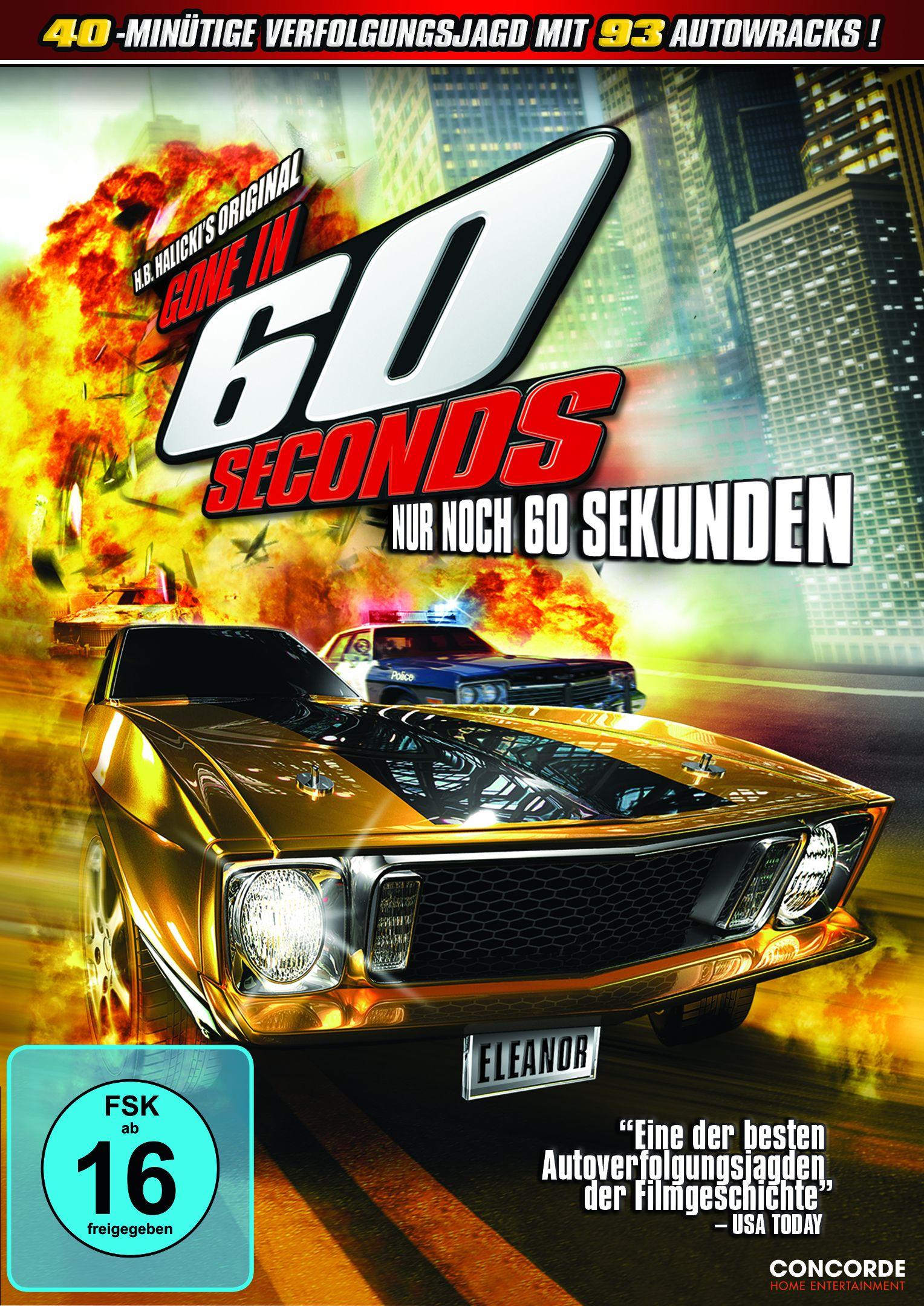 Gone In 60 Seconds Nur Noch 60 Sekunden Film Rezensionen De