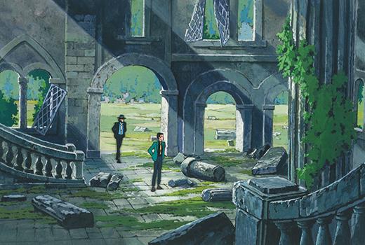 Das Schloss von Cagliostro Szene 1
