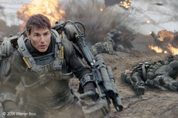 Edge of Tomorrow Frontpage
