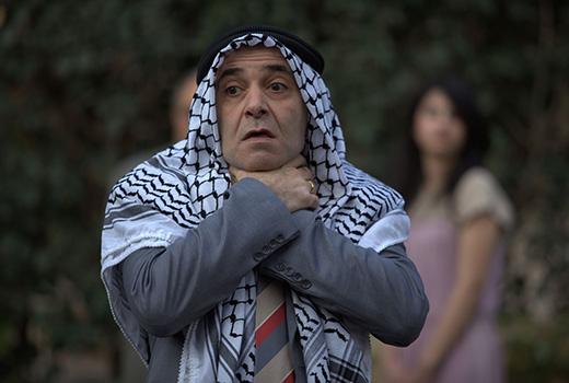 45 Minuten bis Ramallah Szene 1