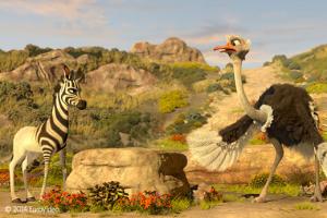 Khumba – Das Zebra ohne Streifen am Popo