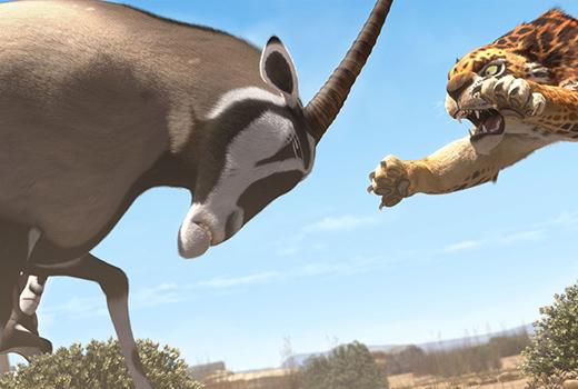 Khumba – Das Zebra ohne Streifen am Popo Szene 2