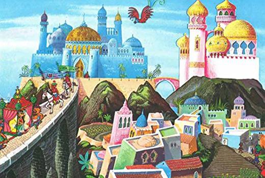 Aladin und die Wunderlampe Szene 1