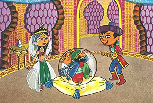 Aladin und die Wunderlampe Szene 2