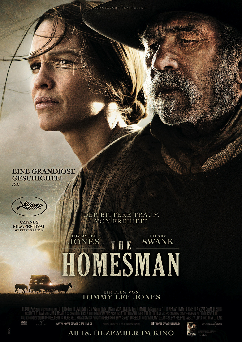 "The Homesman"" directed by Tommy Lee Jones, 2014)"