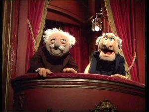 Waldorf Statler Muppet Show
