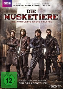 Drei Musketiere Staffel 1 DVD