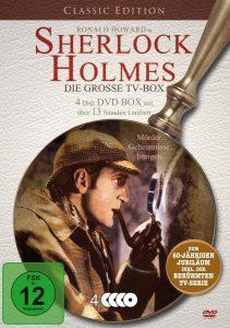 Sherlock Holmes TV Box DVD