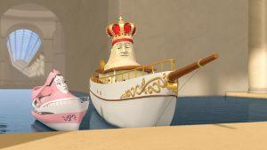 Boats Elias und die königliche Yacht