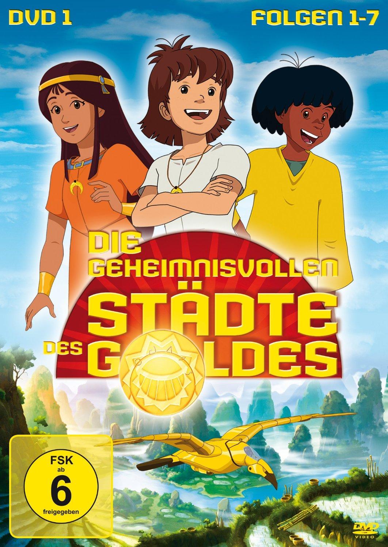 Die Geheimnisvollen Städte Des Goldes