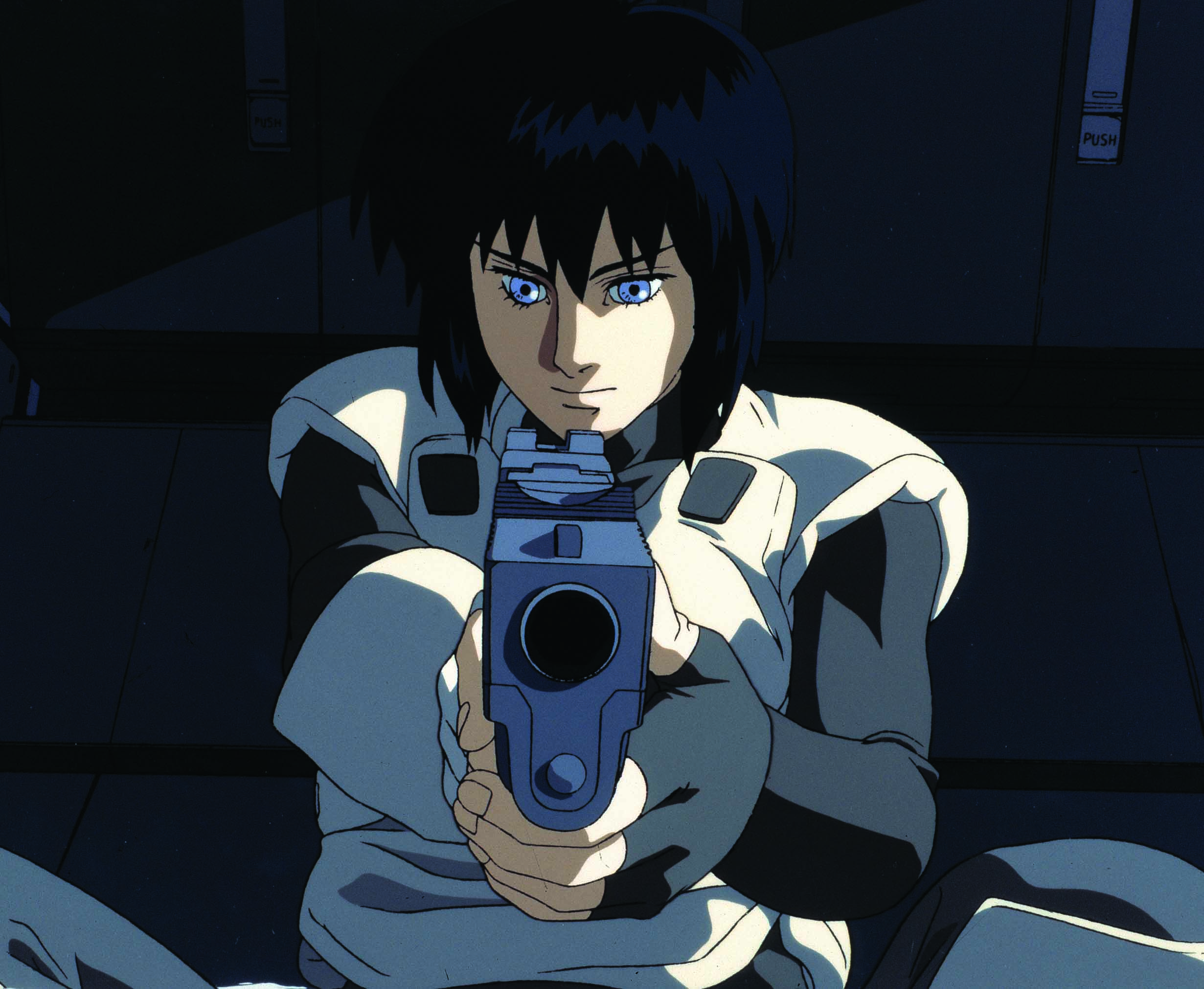 ghost in the shell 1995 film. Black Bedroom Furniture Sets. Home Design Ideas