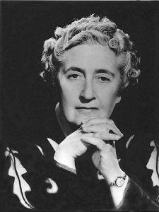 Agatha Christie Portraet