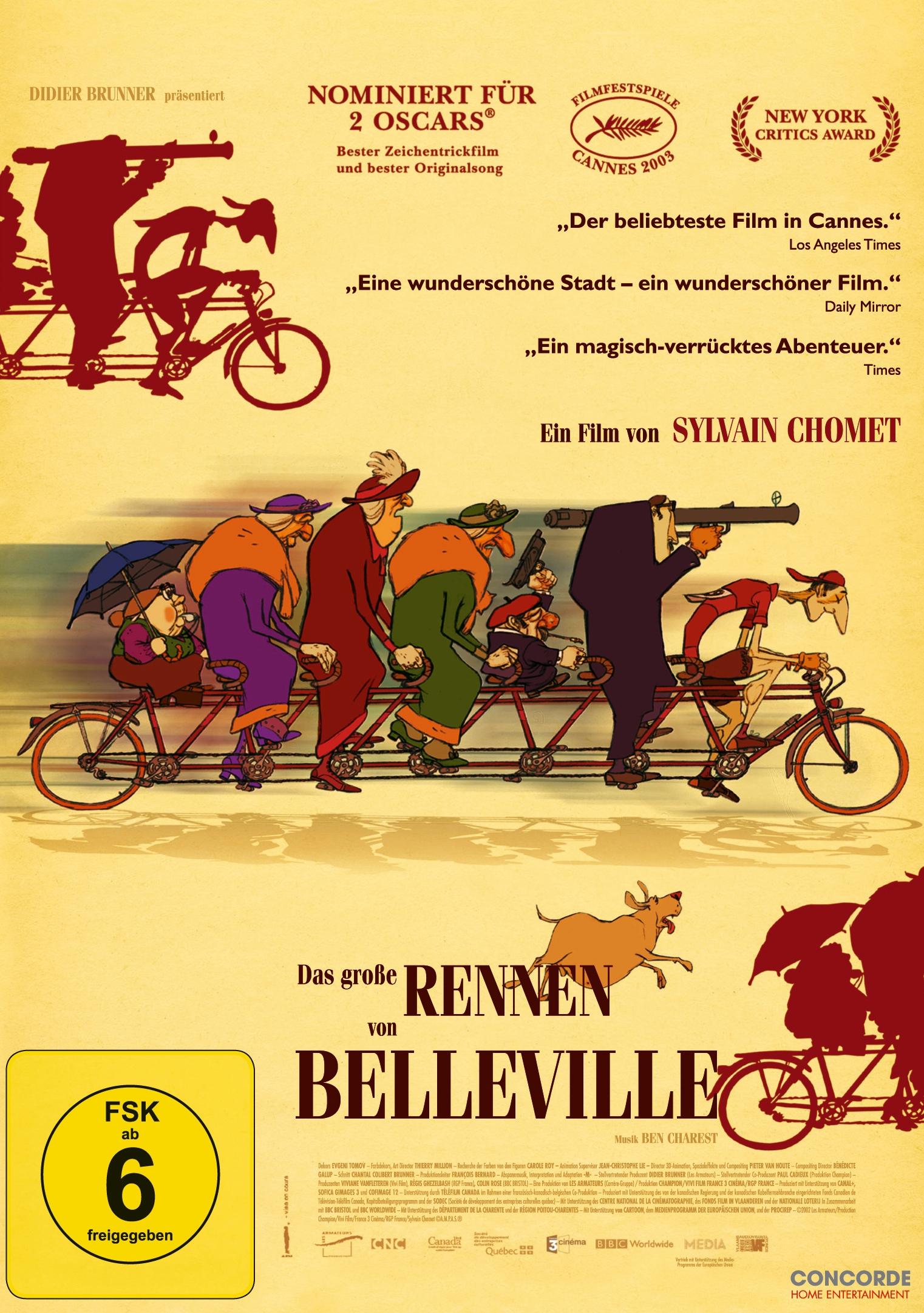 Das Rennen Von Belleville