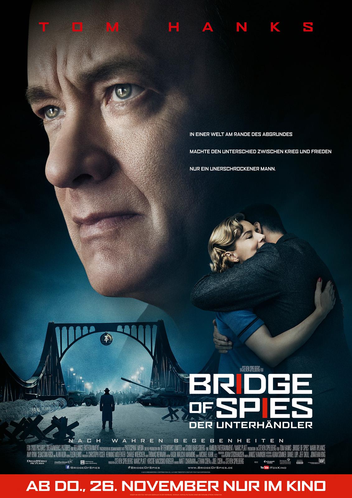 Bridge Of Spies – Der Unterhändler Stream