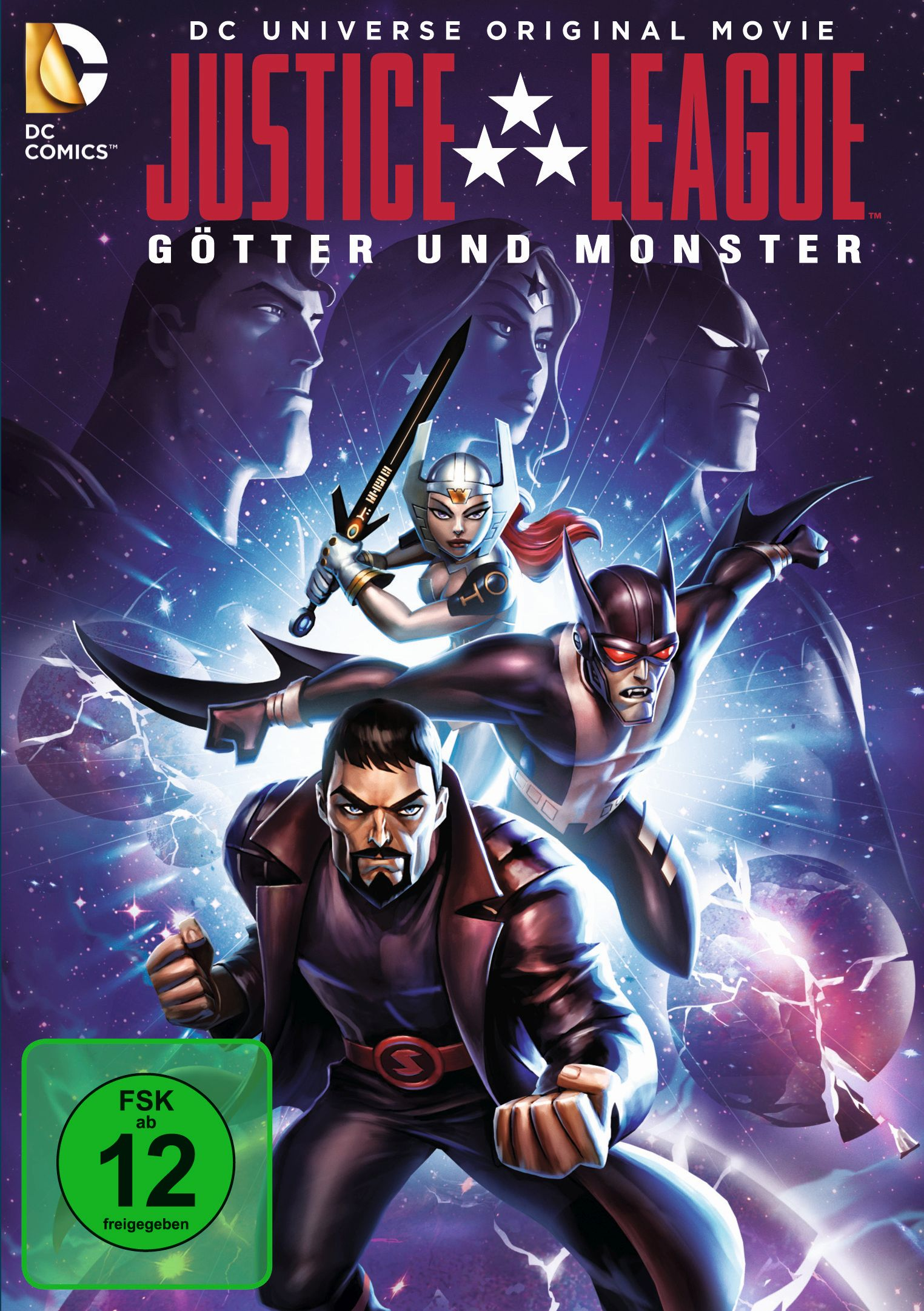 Justice League - Götter Und Monster
