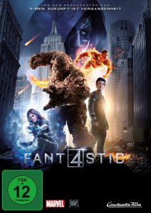 Fantastic Four 2015 DVD