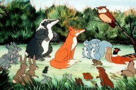 Als die Tiere den Wald verließen
