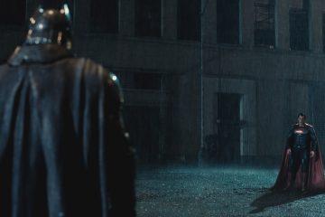 Batman v Superman Frontpage