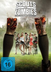 Scouts vs Zombies DVD