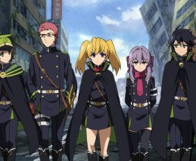 Seraph of the End Frontpage