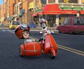 Abenteuer von Mr Peabody and Sherman Frontpage