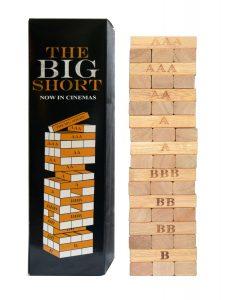 THE BIG SHORT - Verlosungsartikel - Tumbling Block Game