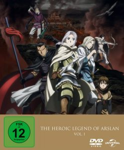 The Heroic Legend of Arslan Vol 1