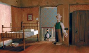Wallace and Gromit Die Technohose