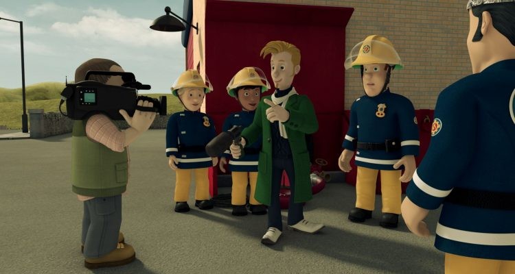 Feuerwehrman Sam Achtung Ausserirdische