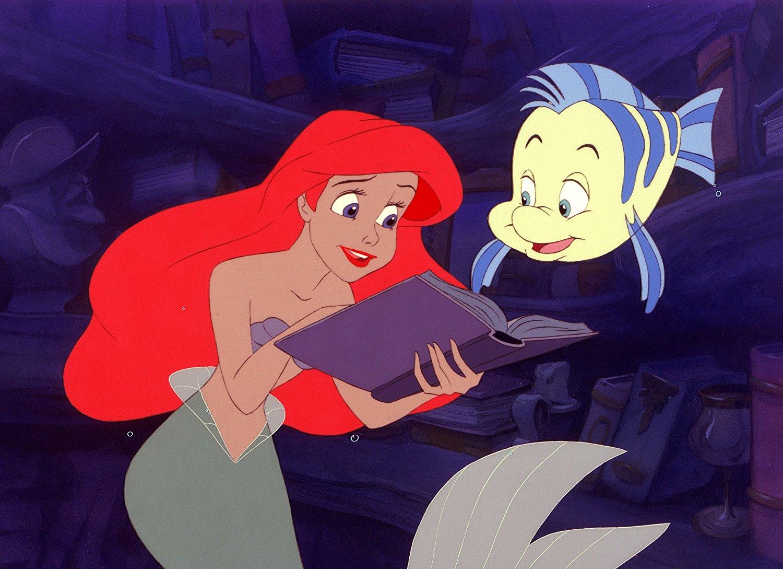 Ariel die nackte Meerjungfrau