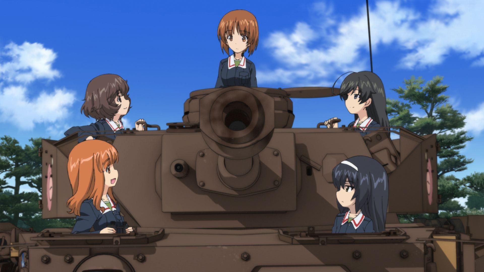 Girls Und Panzer Film