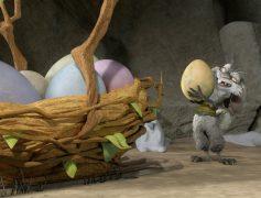 Ice Age Jaeger der verlorenen Eier