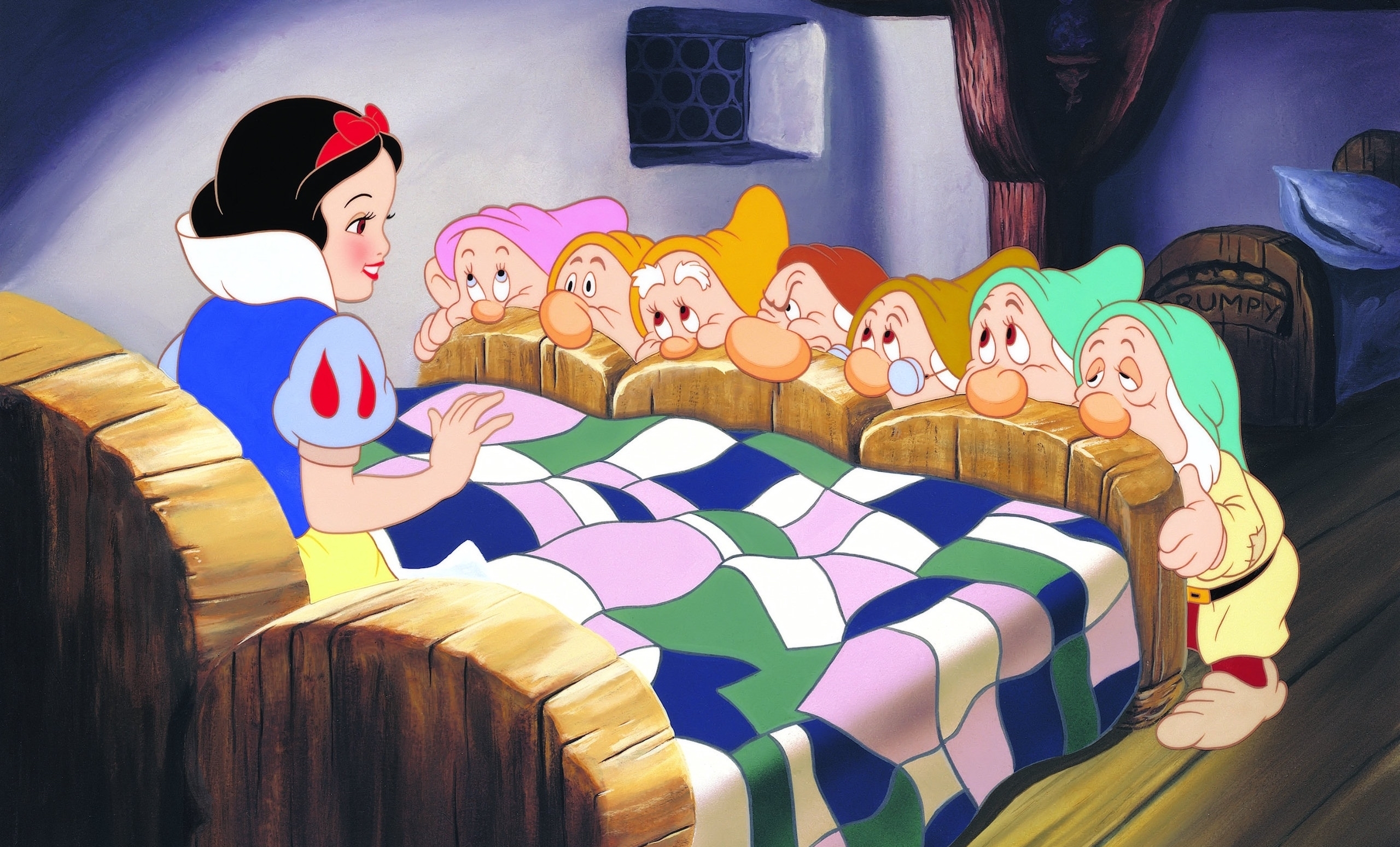 snow white and the seven dwarfs - HD1920×1080