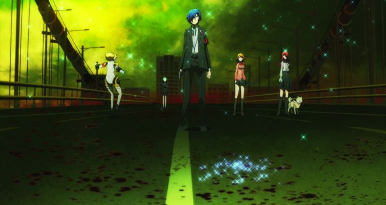 Persona 3 Falling Down