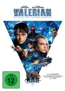 Valerian DVD
