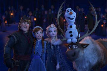 Die Eiskoenigin Olaf taut auf