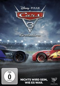 Cars 3 Evolution DVD