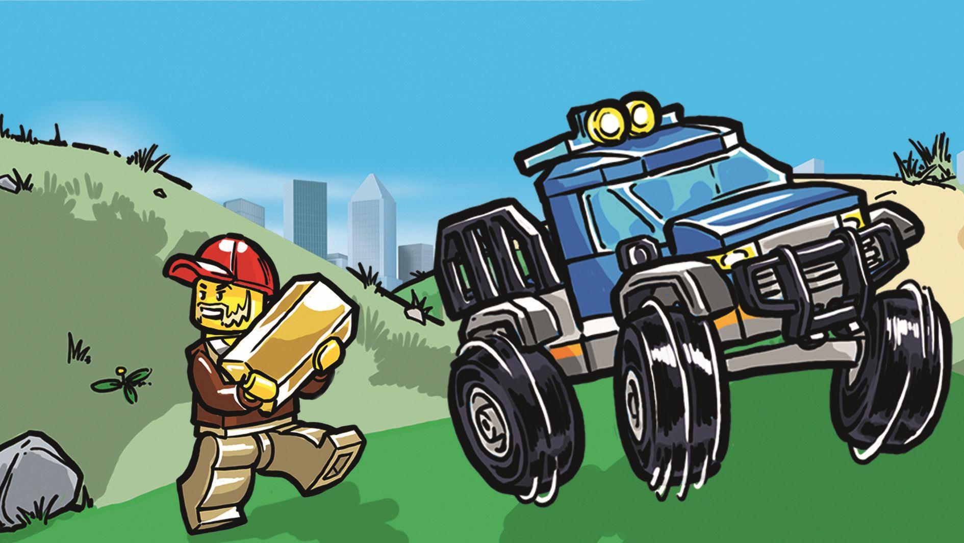 Lego City 20 Bergpolizei Gewinnspiel Zum Verkaufsstart
