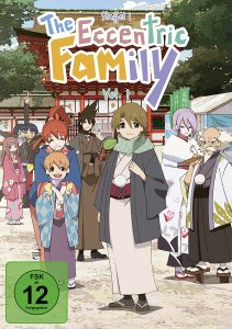 The Eccentric Family Vol 1