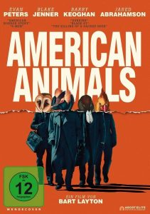 American Animals DVD